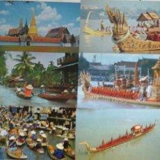 Postales: 8 POSTALES THAILANDIA.AÑOS 80 SIN CIRCULAR . Lote 53262442