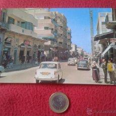 Postales: TARJETA POSTAL POST CARD GAZA PALESTINA OMAR EL MOKTHAR STREET VER FOTO/S Y DESCRIPCION. NO ESCRITA . Lote 54367907
