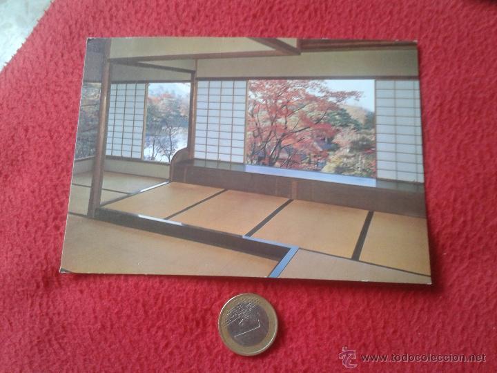 TARJETA POSTAL POST CARD JAPON JAPAN NIPPON KYUSUI-TEI PAVILION IN AUTUMN SHUGAKUIN IMPERIAL VILLA V (Postales - Postales Extranjero - Asia)