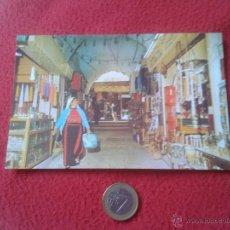Postales: TARJETA POSTAL POST CARD ISRAEL JERUSALEM OLD CITY STREET SCENE VER FOTO/S Y DESCRIPCION. IDEAL COLE. Lote 54385818
