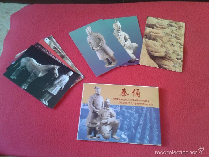 LOTE COLECCION DE 12 POSTALES POSTCARDS GUERREROS Y CABALLOS TERRACOTA WARRIORS AND HORSES CHINA VER (Postales - Postales Extranjero - Asia)