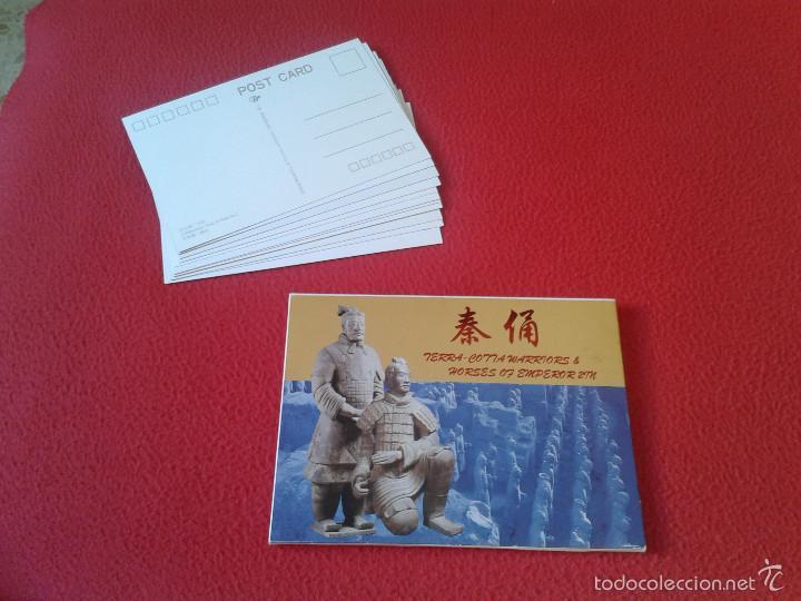 Postales: LOTE COLECCION DE 12 POSTALES POSTCARDS GUERREROS Y CABALLOS TERRACOTA WARRIORS AND HORSES CHINA VER - Foto 3 - 55364406