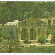 Postales: POSTAL JERUSALEM - GETHSEMANE AND MOUNT OF OLIVES. Lote 56258986