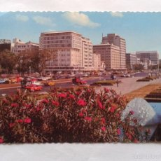 Postales: POSTAL -- FILIPINAS - ROXAS BLVD. AND FLOWERS -- CIRCULADA --. Lote 57127479