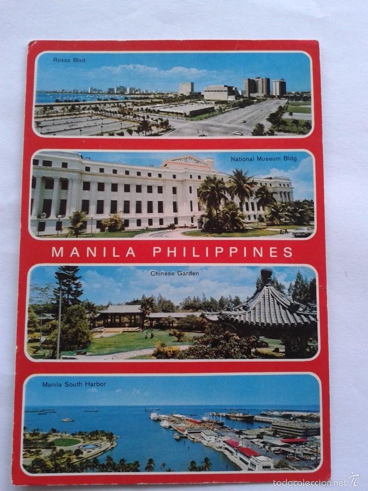 POSTAL -- MANILA - FILIPINAS -- CIRCULADA - (Postales - Postales Extranjero - Asia)