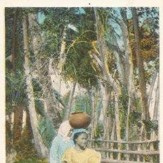 Postales: ANTIGUA POSTAL ISLAS FILIPINAS MUJER NATIVA NATIVE WOMEN MANILA PHILIPPINE ISLANDS. Lote 58229827