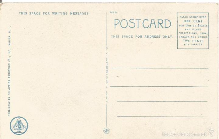 Postales: ANTIGUA POSTAL ISLAS FILIPINAS MUJER NATIVA NATIVE WOMEN MANILA PHILIPPINE ISLANDS - Foto 2 - 58229827