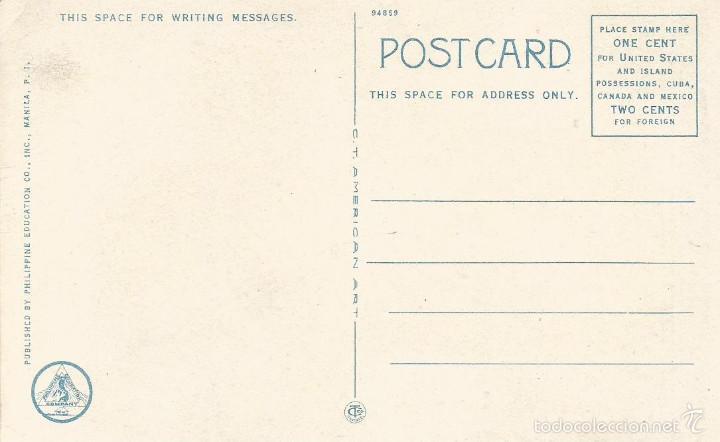Postales: ANTIGUA POSTAL FILIPINAS NATIVOS CRUZANDO EL ARROYO MANILA PHILIPPINE ISLANDS - Foto 2 - 58229871