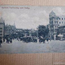 Postales: BOMBAY: ESPLANADE ROAD ( DE PRINCIPIOS DEL SIGLO XX, CIRCA 1907). Lote 58328622