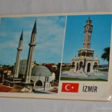 Postales: LIBRITO, 12 TARJETAS POSTALES - RECUERDO DE IZMIR - 12 COLOR VIEWS OF IZMIR - KESKIN COLOR. Lote 61256131