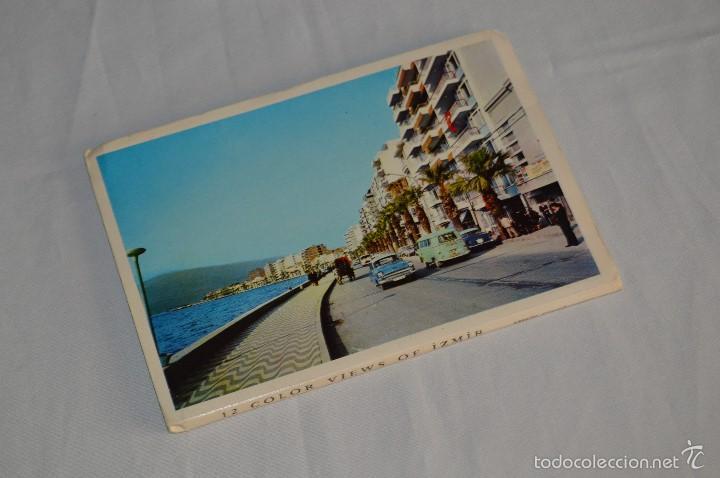 Postales: Librito, 12 Tarjetas POSTALES - Recuerdo de IZMIR - 12 COLOR VIEWS OF IZMIR - KESKIN COLOR - Foto 2 - 61256131