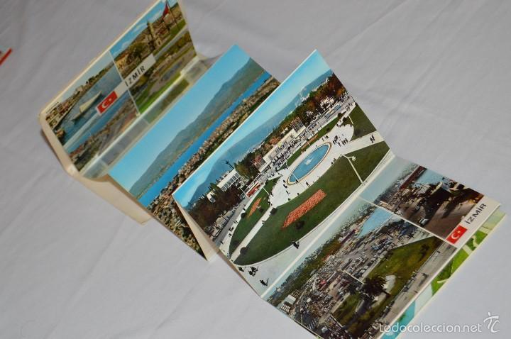 Postales: Librito, 12 Tarjetas POSTALES - Recuerdo de IZMIR - 12 COLOR VIEWS OF IZMIR - KESKIN COLOR - Foto 3 - 61256131