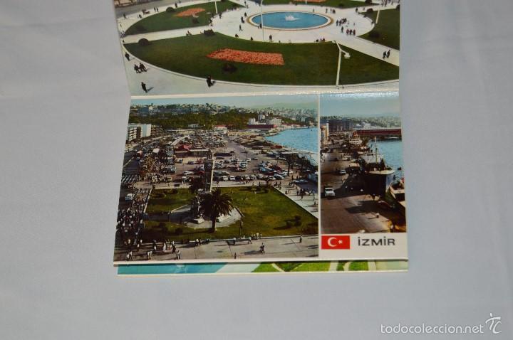 Postales: Librito, 12 Tarjetas POSTALES - Recuerdo de IZMIR - 12 COLOR VIEWS OF IZMIR - KESKIN COLOR - Foto 4 - 61256131