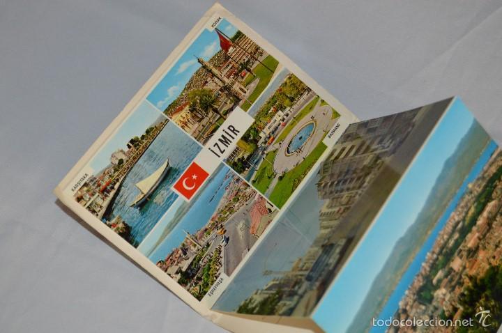 Postales: Librito, 12 Tarjetas POSTALES - Recuerdo de IZMIR - 12 COLOR VIEWS OF IZMIR - KESKIN COLOR - Foto 6 - 61256131