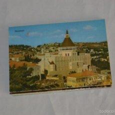 Postales: LIBRITO, 10 TARJETAS POSTALES - RECUERDO DE NAZARETH - 10 IMÁGENES EN COLOR. Lote 61256959