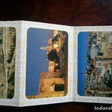 Postales: LIBRO LOTE 10 POSTALES JERUSALEM OLD CITY. Lote 62735008