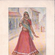 Postales: INDE A MARWARI WOMAN INDE A MARWARI WOMAN. Lote 62985500