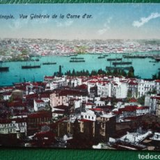 Postales: POSTAL CIRCULADA DE 1922 CONSTANTINOPLA VISTA GENERAL DE LA CORONA DE ORO. Lote 64469477