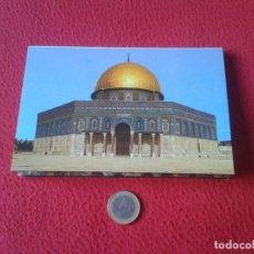 Postales: ACORDEON ABANICO TIRA TACO DE 10 POSTALES ISRAEL JERUSALEM JERUSALEN THE DOME OF THE ROCK POSTCARD P. Lote 65747030