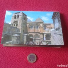 Postales: ACORDEON BLOC DE 10 POSTALES POSTCARDS ISRAEL JERUSALEM JERUSALEN IGLESIA DEL SANTO SEPULCRO CHURCH . Lote 68758241