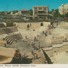 Postales: JERUSALEM (ISRAEL). NEW PIAZZA OUSIDE DAMASCUS GATE . Lote 76171623