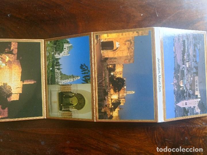 LIBRO LOTE 10 POSTALES JERUSALEM MONTE ZION (Postales - Postales Extranjero - Asia)