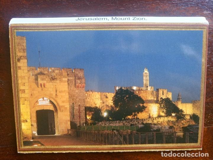 Postales: Libro lote 10 postales jerusalem monte zion - Foto 2 - 83646160