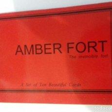 Postales: LIBRITO DE POSTALES INDIA-AMBER FORT. Lote 86762484