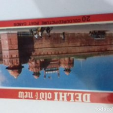 Postales: LIBRITO DE POSTALES INDIA-DELHI. Lote 86762632