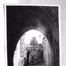 Postales: (XAS-1) ANTIGUA POSTAL FOTOGRÁFICA SARACENIC ARCHAWAY JERUSALEM. HASEMITE JORDAN. ARCO SARRACENOS.. Lote 87439804