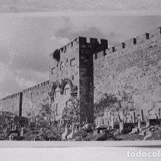 Postales: (XAS-5) ANTIGUA POSTAL FOTOGRÁFICA GOLDEN GATE JERUSALEM. G. SEMERDJIAN . HASEMITE JORDAN.. Lote 87440184