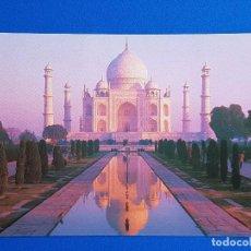 Postales: TAJ MAHAL. AGRA. INDIA - POSTAL PUBLICITARIA ULTRAMAR EXPRESS. Lote 90993065