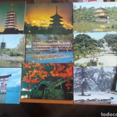 Postales: LOTE 10 POSTALES JAPÓN SIN CIRCULAR . Lote 94336523
