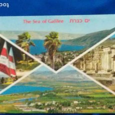 Postales: THE SEA OF GALILEA - ISRAEL. Lote 94811719