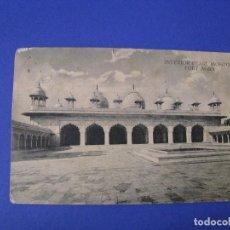 Postales: POSTAL DE INDIA. MEZQUITA PERLA. FUERTE AGRA. CIRCULADA 1914.. Lote 95572743