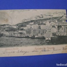 Postales: ANTIGUA POSTAL TURQUIA. ESMIRNA. IZMIR. FAUBOURG DE KARATACH. CIRCULADA A BUCAREST. 1905.. Lote 95575435