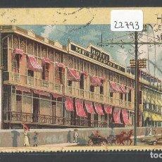 Postales: FILIPINAS - PHILIPPINES - HOTEL METROPOLE MANILA - P22793. Lote 98206527