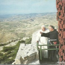 Postales: MOUNT NEBO THE MEMORIAL OF MOSES VISITA JUAN PABLO II. Lote 98243831