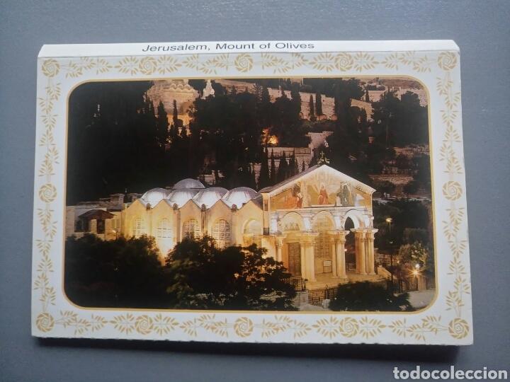 LOTE LIBRO DE 10 POSTALES JERUSALEM MONTE DE LOS OLIVOS (Postales - Postales Extranjero - Asia)