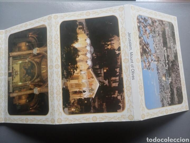 Postales: Lote libro de 10 postales Jerusalem monte de los olivos - Foto 2 - 103721619