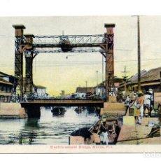 Postales: FILIPINAS.- MANILA. ELECTRIC - ASCEND BRIDGE. P.I.. Lote 103866251