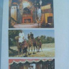 Postales: LOTE DE 3 POSTALES DE BELEN ( BETHLEEM , ISRAEL ) , AÑOS 50. Lote 103879271