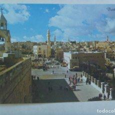 Postales: LOTE DE 3 POSTALES DE BELEN ( BETHLEEM , ISRAEL ) , AÑOS 50. Lote 103981075