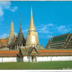 Postales: TAILANDIA - INSIDE OF THE EMERALD BUDDHA TEMPLE (BANGKOK). Lote 104310827