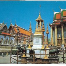 Postales: TAILANDIA - MONUMENT DEDICATED TO KINGS RAMA I, II AND III (BANGKOK). Lote 104311111