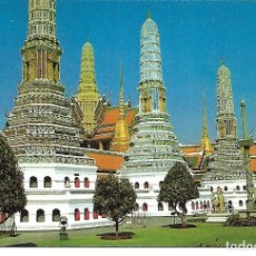 Postales: TAILANDIA - THE PAGODAS IN THE EMERALD BUDDHA TEMPLE (BANGKOK). Lote 104311207