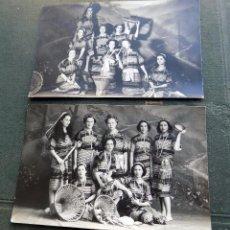 Postales: LOTE DE DOS POSTALES. BAGUIO, FILIPINAS. ESPAÑOLAS CON TRAJE TIPICO DE BAGUIO. W. Lote 104597739