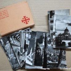 Postales: 33 POSTALES TIERRA SANTA,CUSTODIA FRANCESCANA DE TERRA SANTA.. Lote 108261947