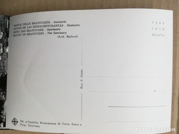 Postales: 33 POSTALES TIERRA SANTA,CUSTODIA FRANCESCANA DE TERRA SANTA. - Foto 4 - 108261947