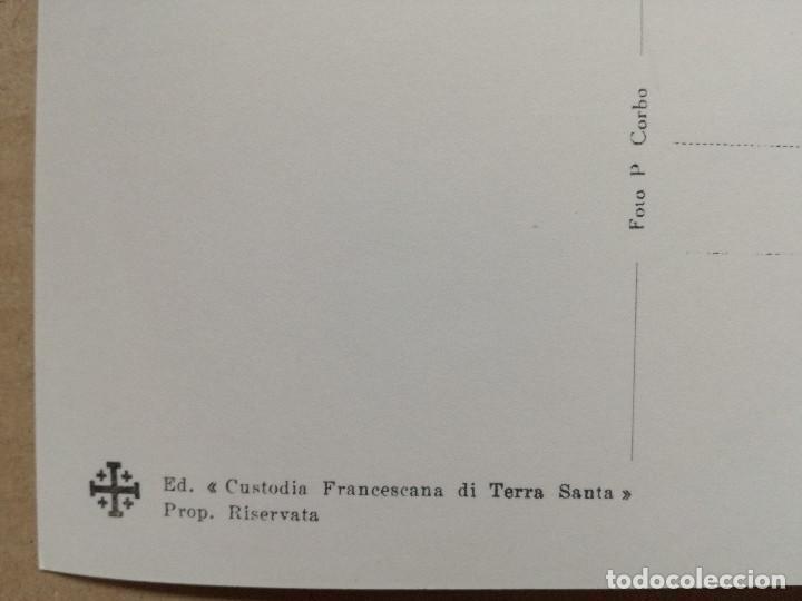 Postales: 33 POSTALES TIERRA SANTA,CUSTODIA FRANCESCANA DE TERRA SANTA. - Foto 19 - 108261947
